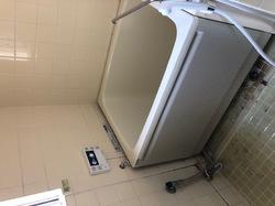 練馬区要町ホールインワン工事900浴槽